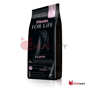 Fitmin dog For Life Puppy корм д/щ всех пород 3кг